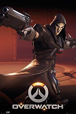 Overwatch Reaper Gaming Maxi Poster Print 61x91.5cm | 24x36 inches