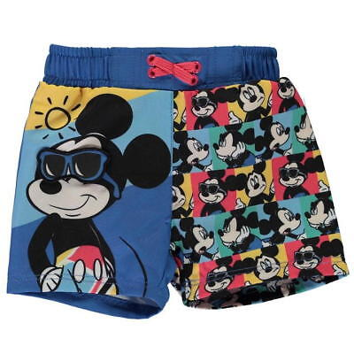 Disney Mickey Mouse Baby Boys Board Shorts Swim Swimming Trunks Pants Swimwear