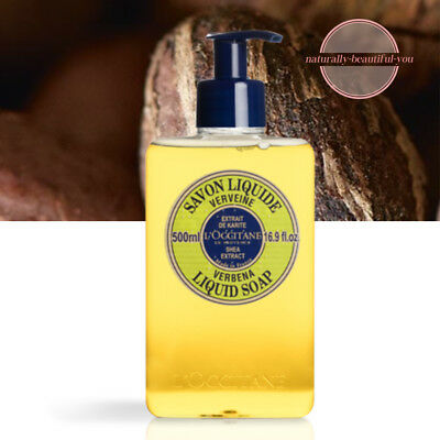 NEW L'Occitane Verbena Liquid Soap 500ml Natural Nourish Delight *Free Post