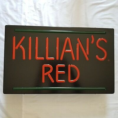 Vintage 1985 Coors, Killians Red Beer Light, New Old Stock. Tested & Working