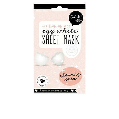 Cosmética Oh K! mujer SHEET FACE MASK egg white glowing skin 20 ml