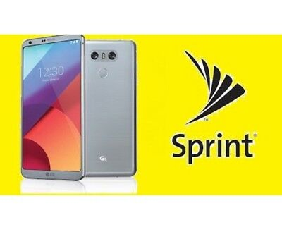SPRINT SIM UNLOCK Lg G6 Ls993 Factory Unlock Zva - Zvd Supported