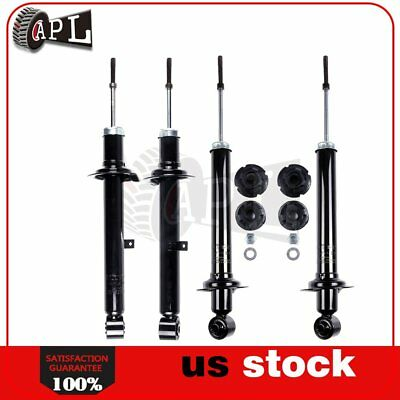 Full Set Front and Rear Struts Aseemblies for 2007-2013 Lexus IS250 RWD