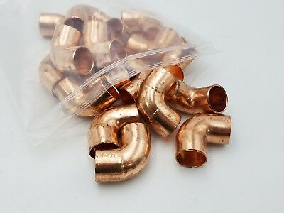 "18 PC 3/4"" Nibco Copper Elbow Coupling 90 Degree Adapter Sweat Fitting NOS CxC"