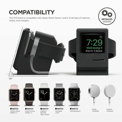 For Apple Watch Series 4 3 2 1 38mm 42mm 40mm 44mm Silicone Charge Stand Holder