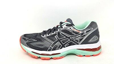 new product 524a3 2fbc0 NEW! ASICS WOMEN'S Gel-Nimbus 19 Running Shoe T750N Carbon/White/ Coral 88W  sm