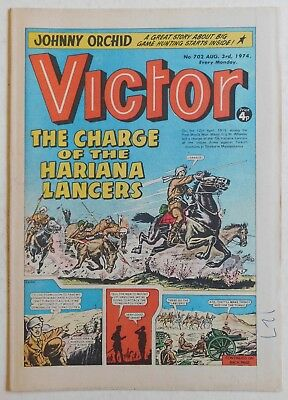 VICTOR Comic #702 - 3 August 1974
