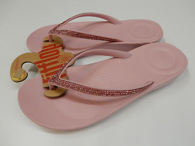 f21eac959 NEW IN BOX FITFLOP iQushion Ergonomic Flip Flops Thongs Sandals ...