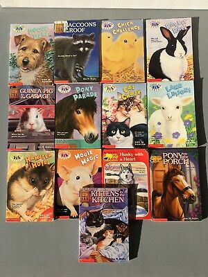 Animal Ark Chapter Books By Ben M Baglio Lot Of 13 Popular Kids