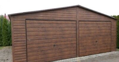 Steel double garage 6x7x2.4 M £157 per m²