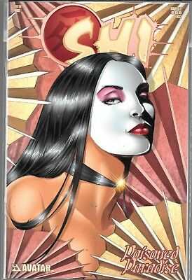 Shi Poisoned Paradise #1/2 Half (Nm) Avatar Comics, Tucci, Limited To 4,000