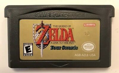 Zelda: Link to the Past Four Swords (Game Boy Advance, 2002) Nintendo GBA Works