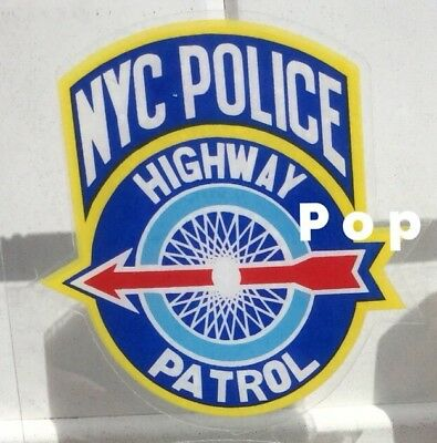 NYS NYC New York City HIGHWAY Police InWindshield *Authentic Decal *Others Avail