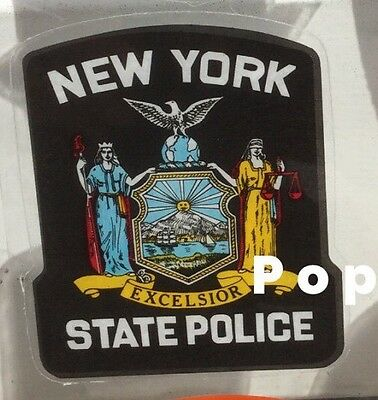 NYS NY - New York State Police Inside Windshield *Authentic Decal **Others Avail