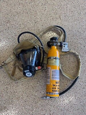 Firefighter Escape (SCBA) Self Contained Breathing App. | Scott Aviation 4500PSI