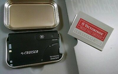 2001 Chrysler PT Cruiser Victorinox SwissCard Sales Brochure Swiss Army Box
