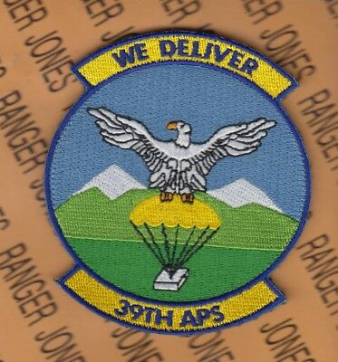 """USAF Air Force 39th Aerial Port Squadron APS Deployment Hook & Loop 3.75"""" patch"""
