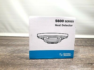 System Sensor 5600 Heat Detector  Brand New In Box Free Shipping