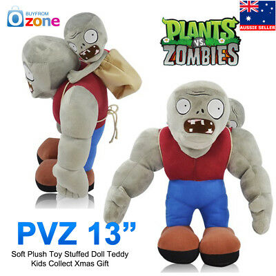 Plants VS Zombies Soft Plush Toy Stuffed Doll Teddy Kids Collect Xmas Gift