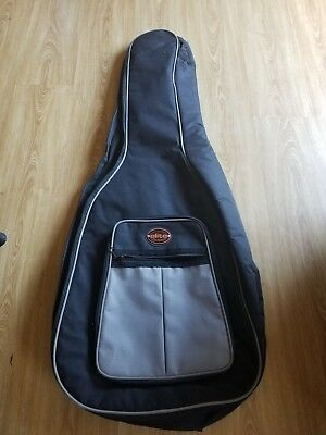Elite Classical Acoustic Guitar Back Pack Carry Case Gig Bag Dual Strap Padded