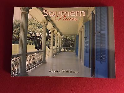 Book Of 21 Southern Places Postcards