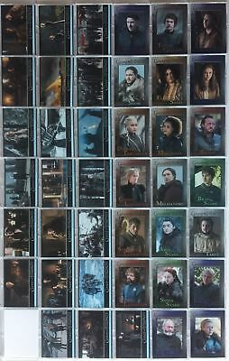 Game of Thrones Season 7 Base Card Set 81 Cards