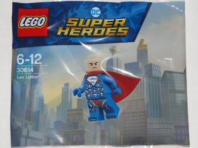 LEGO DC Super Heroes Polybag 30614 LEX LUTHOR Armoured Superman Suit NEW Sealed