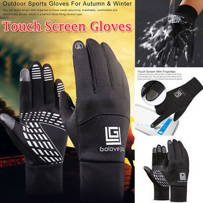 Winter Handschuhe Warm Thermo Windproof Wasserdicht Finger Touch Screen Gloves
