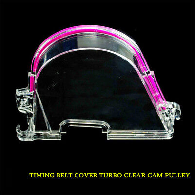 New Adjustable Cam Pulley Clear Cam Cover  FOR HONDA CIVIC D15 D16 CIVIC Engine