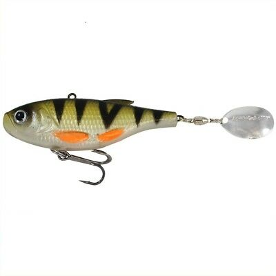 DAM Effzett Roach Spoons 7cm 17g 100/% bleifrei Pink Fire Rudd Orange Blood Perch