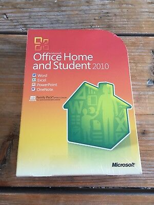 Microsoft Office Home and Student 2010, Retail Vollversion D  mit MwSt Rechnung