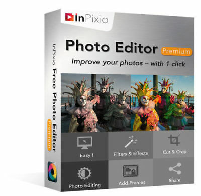 InPixio PHOTO EDITOR PREMIUM Full Version Lifetime Genuine Key Windows Download