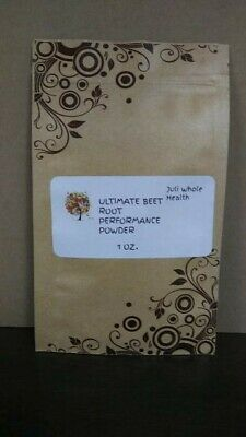 Ultimate Beet Root Performance Powder~1 Tbsp = 5,000 Mg.~Compare To Superbeets~