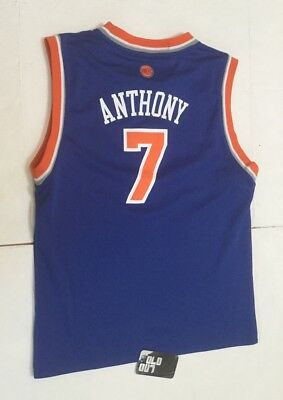 VNDS CARMELO ANTHONY New York Knicks Youth Jersey Youth L NBA Women s M  Adidas 138c6dd7b