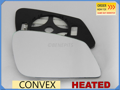 For BMW SERIES 5 F10 F11 2010-16 Wing Mirror Glass Convex HEATED Right /B030