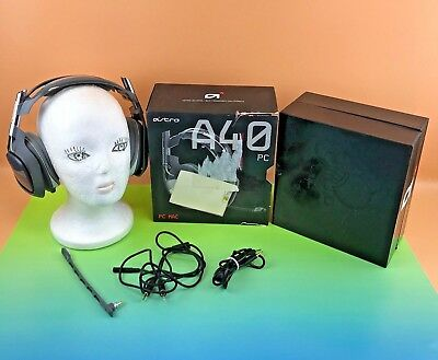 Astro Gaming A40 Over Ear PC MAC Gaming Headset / In Box / Dark Gray #aego5c