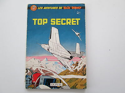 Buck Danny T22 EO1960 Brosche Top Secret Be / Tbe