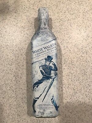 White Walker By Johnnie Walker Got Game Of Thrones Limited Edition Hbo Unopened