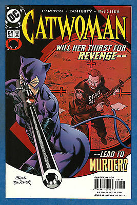 CATWOMAN # 91 - DC 2001 (Series 2) (vf-)