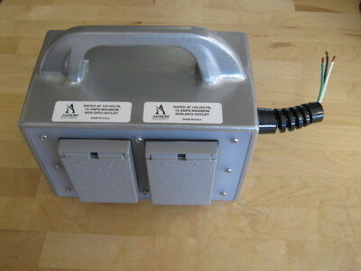 Akron Brass Electrical Junction Box for Fire Rescue (Pierce p/n 63-4450-0049)