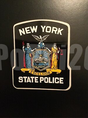 NYSP NY New York State Police *Authentic Sticker
