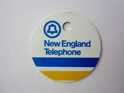 - vintage - BELL SYSTEM / NEW ENGLAND TELEPHONE - Tag - VT VERMONT