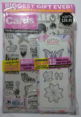 New Simply Cards & Papercraft June Issue 178 Including Huge Stamp & Dies Set