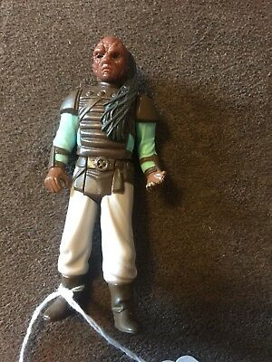 "Vintage Star Wars Skiff Guard Weequay 3.75"" Action Figure Jedi Rotj"