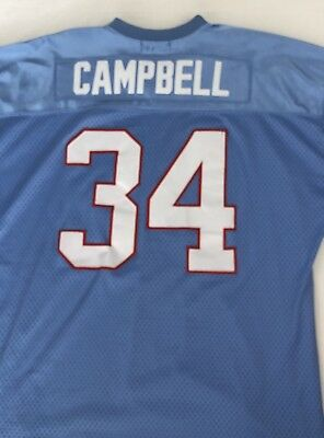 194b61017 MITCHELL   NESS  34 Earl Campbell Houston Oilers NFL Light Blue ...