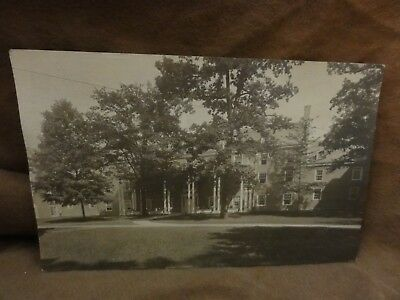RPPC Real Photo Postcard Antique Photo of Beautiful House Colonial Mansion