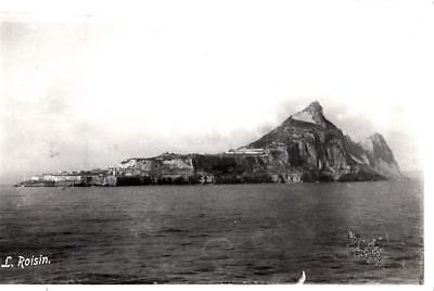 S39. Vintage Postcard. Gibraltar. The Rock from the Straits.