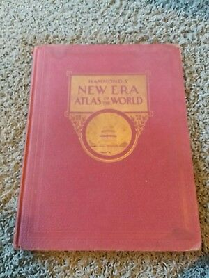 Hammonds New Era Atlas Of The World