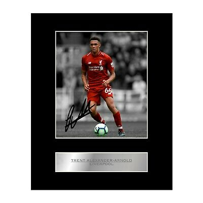 Trent Alexander-Arnold Signed Mounted Photo Display Liverpool FC #1
