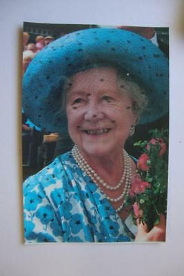 194) British Royalty ~ Her Majesty Queen Elizabeth ~ The Queen Mother In Blue